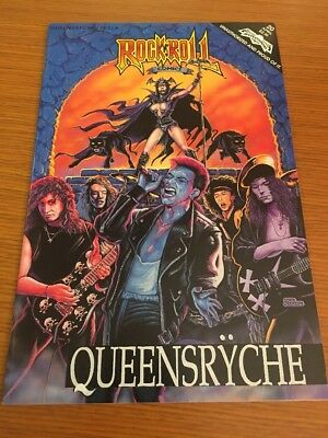 Queensryche/Tesla Rock N Roll Comics #20 Rock N Roll comics!! See Pics!!