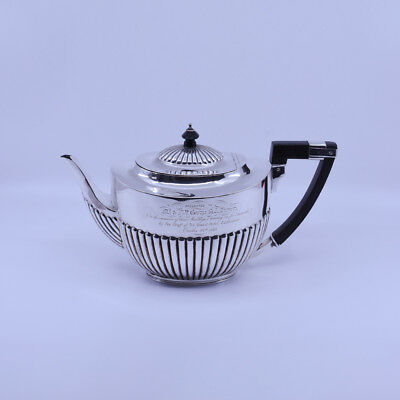 Very large Victorian Sterling Silver Teapot, William Hutton, ref. Australian