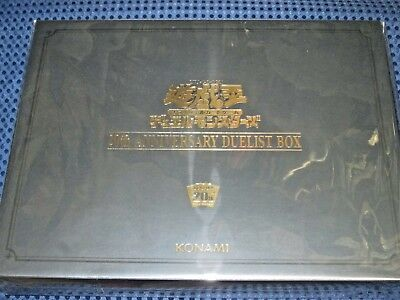 NEW YuGiOh! OCG 20th Anniversary Duelist Box Limited Set JAPAN Secret Rare F/S