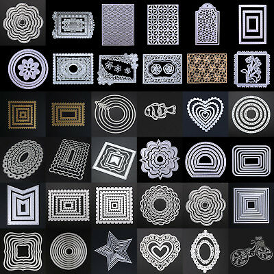 DIY Metal Cutting Dies Stencil Album Paper Cards Embossing Scrapbooking  SE#N