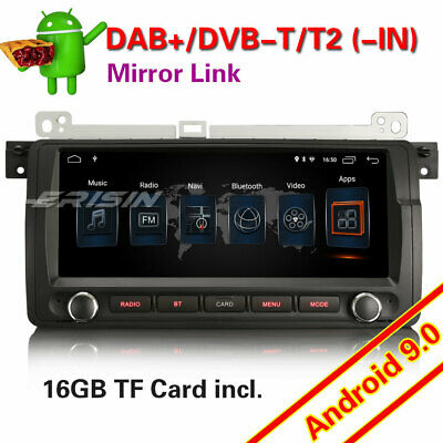 9''Android 8.1 DAB+Autoradio GPS RDS for 3 series BMW E46 M3 320 ROVER 75 MG ZT