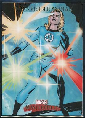 2007 Marvel Masterpieces Trading Card #41 The Invisible Woman