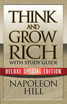 Hill Napoleon/ Puskar There...-Think And Grow Rich + Study Guide BOOK NUOVO