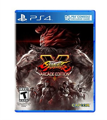 Ps4 Action-Street Fighter V Arcade Edition Ps4 Neuf