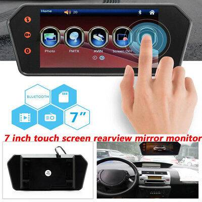 7 inch Touch Screen Bluetooth Video 1080P 16:9 USB/TF FM Mirror MP5 Player