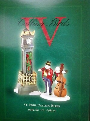 Department DEPT 56 12 TWELVE DAYS OF CHRISTMAS DICKENS VILLAGE Day 4 IV #58379