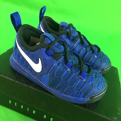 af93f45e3c0 NIKE Zoom KD9 Basketball Infant Baby Child Shoes Size 6 6C Blue NEW  855910-410