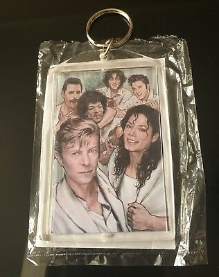 Legends Of Music Brand New Large Keyrings