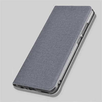For Huawei Mate 10 20 Pro Lite Luxury Cloth Leather Case Slim Flip Wallet Cover