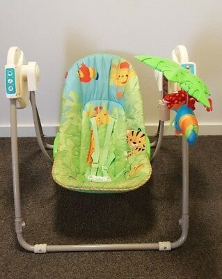 Fisher Price Rainforest Take-along Baby Swing