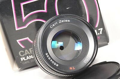 Lens Carl Zeiss  50mm F1.7 T* PLANAR Contax / Yashica mount, boxed