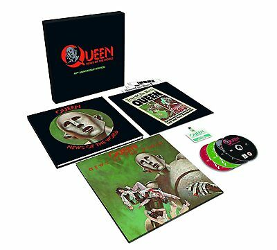 Queen- News of the World- 40th Anniversary Box Set