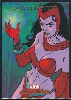 2007 Marvel Masterpieces Trading Card #72 Scarlet Witch