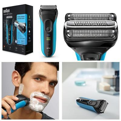 Braun Series 3 ProSkin 3040s Wet and Dry Mens Rechargeable Shaver Razor RRP £149