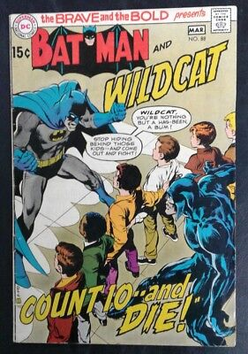 Brave and the Bold #88 DC Comics Bronze Age Neal Adams Cover VG+ 4.5 20% OFF!