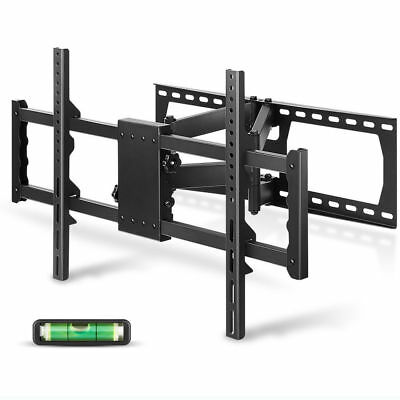 Tilting & Swivel Full Motion Two Articulating Arm TV Wall Mount 700x400mm 176lbs