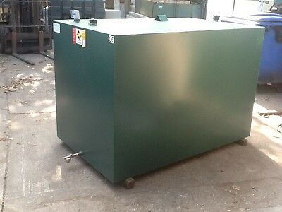 BUNDED STEEL HEATING OIL TANK METAL 2450Ltr  NEW