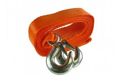 Maypole MP6114 4000kg Towing Recovery Strap 50mm x 3.5m with Forged Steel Hooks