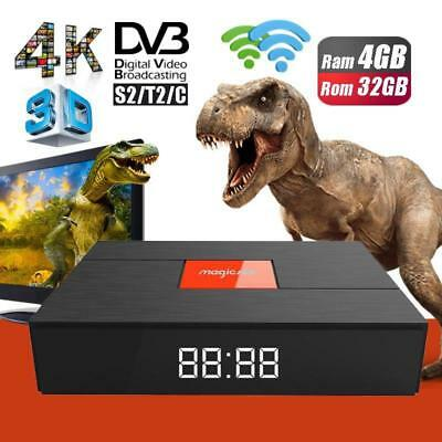 Magicsee C400 Plus híbrido 3G 32 GB Smart TV Set Top Box DVB-S2 DVB-T2 4 K HD Di
