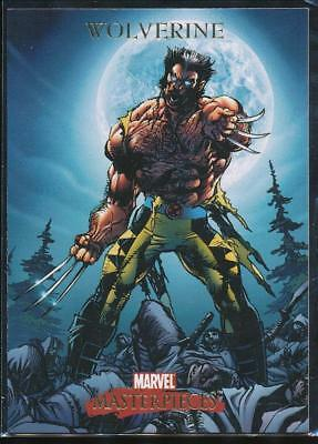 2007 Marvel Masterpieces Trading Card #90 Wolverine