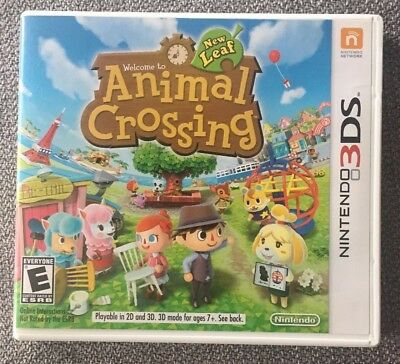Animal Crossing: New Leaf (Nintendo 3DS, 2013) CIB complete video game