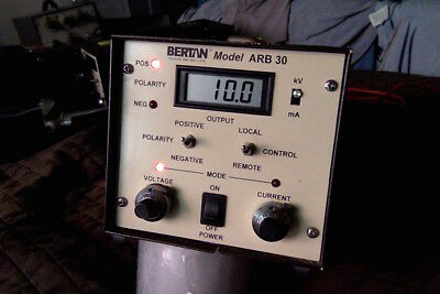 Bertan ARB30 HV power supply 0 to + or - 30kV, 400 uA