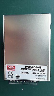Mean Well PSP-600-48 AC/DC Power Supply Single-OUT 48V 12.5A 600W US Authorized