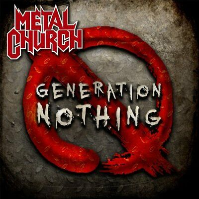 Metal Church-Generation Nothing (Us Import) Cd New