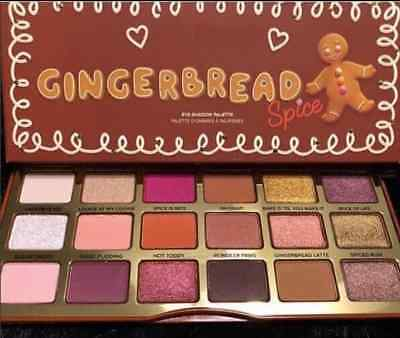 Palette De Maquillage Gingerbread Spice Fard À Paupière Style Too Faced New Mode