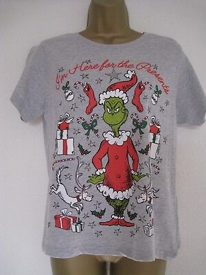 Primark The Grinch Christmas Pyjamas Ladies Womens Pajamas 12 99