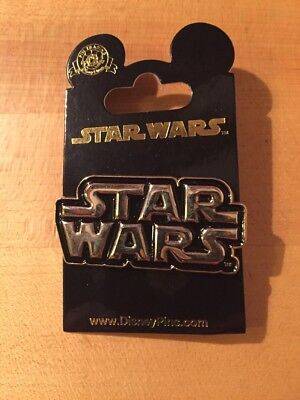 STAR WARS Logo Pin - Brand New pin from Disney Parks