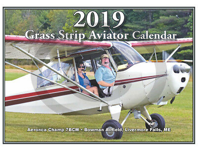 Grass Strip Aviator Calendar 2019 - 56 High Quality Photos  Aircraft Around Us