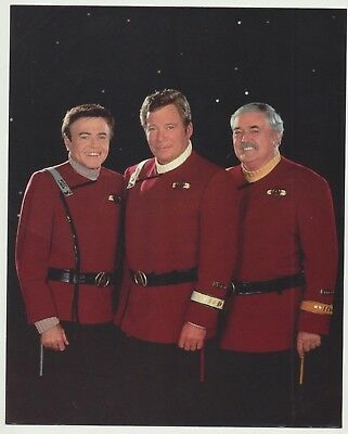 Star Trek Lot FLEET Technical Manual Book by Franz Joseph Walter Koenig Photo