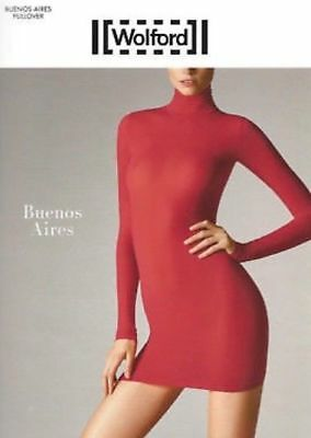 SEXY Wolford  Pullover Kleid rot rollkragen Buenos Aires XS extra small