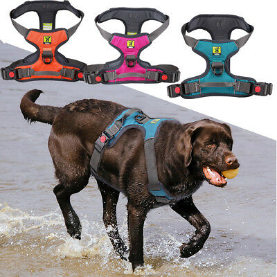 Large Pet Dog Harness Vest Collar Adjustable Soft Walk Out Hand Strap Lead