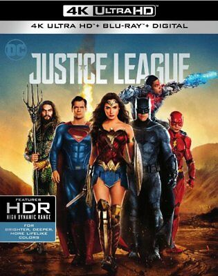 Justice League (4K Ultra HD + Blu-ray, WITH SLIPCOVER)