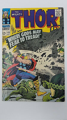 Thor #132 - VG - 1966 Marvel Comics - 1st Ego the Living Planet - Kirby