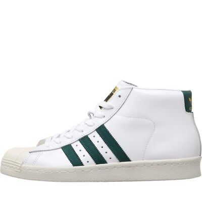 competitive price 5ad4f 23672 ADIDAS ORIGINALS PRO MODEL 80s SHELLTOE TRAINERS WHITE UK 5 BNWTIB
