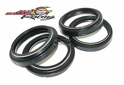 Front Fork Oil Dust Seals Kit Set All Balls Fits Kawasaki Zx6R G1 G2 J1 J2 98-02