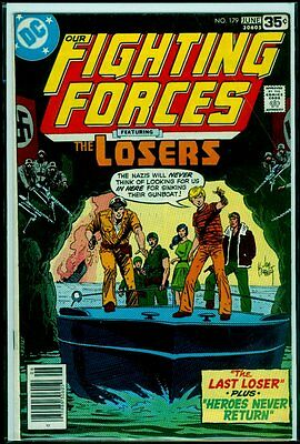 DC Comics Our FIGHTING FORCES #179 The LOSERS VG/FN 5.0