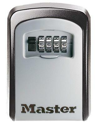 Master Lock Key Lock Box Wall Mounted Keypad 4 Digits Medium Combination Outdoor