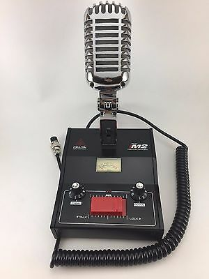 DELTA M2 AMPLIFIED DYNAMIC POWER BASE MICROPHONE 4 pin Cobra