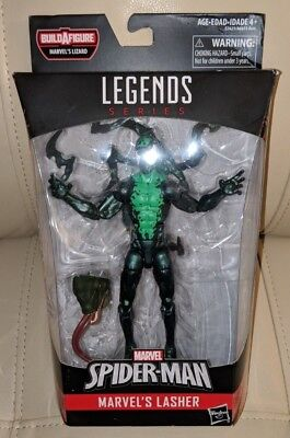 "Marvel Legends Spider-Man Lizard Wave Marvel's Lasher 6"" Action Figure NEW"