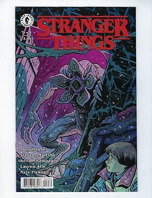 STRANGER THINGS # (4 of 4) DARK HORSE COMICS, VARIANT COVER 2, JAN 2019, NEW