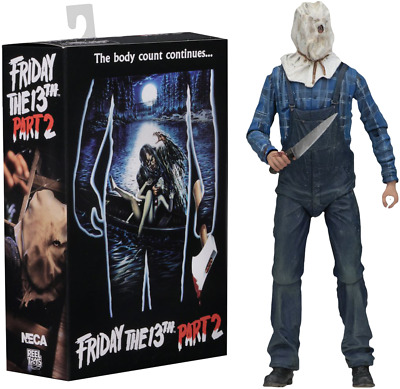 """NECA Friday the 13th Part 2 Ultimate Jason Voorhees 7"""" Action Figure"""