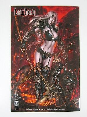 Lady Death Chaos Rules #1 Inferno Edition Variant NM Jesse Wichmann Coffin Comic
