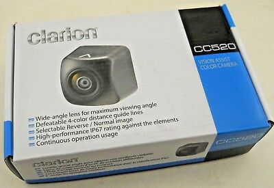 BRAND NEW Clarion CC520 Vision Assist Color Camera, Wide Angle, Guide Lines
