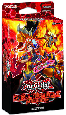 Preorder Sealed Yu-Gi-Oh! Soulburner Structure Deck Fast Free Ship 02/15/19