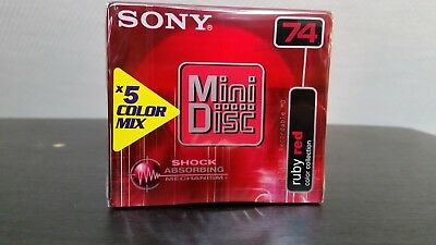 Sony minidisc color collection