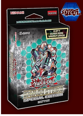Preorder Sealed Yu-Gi-Oh! Savage Strike Special Edition Fast Free Ship 03/08/19